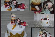 cake včelí medvídci