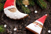 Gingerbread decorations / Zdobienie pierników / Gingerbread decorating - inspirations and tutorials Zdobienie pierników - inspiracje, tutoriale