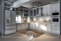 Özel Tasarım İle Hazırlanan Mutfak Tasarımları