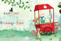 Santoro Kori Kumi / A collection of papercraft products produced by Craft Consortium and the stunning makes and projects made with them.