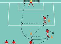 fodboldøvelser