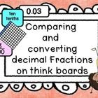 decimals and fractions