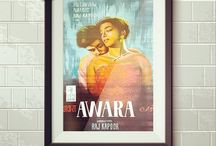 Handpainted Bollywood Posters / Showcasing the top 50 Bollywood Handpainted Posters.