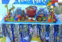 mikaeel's 11th Birthday Pool Party / Mikaeels Pool Party Theme Ideas