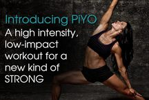 PIYO workouts / Do it at home workouts with Chalene Johnston