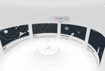 VR/AR UX & Interface Design / UX/UI considerations in  360° 3D environments