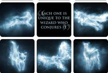 Harry Potter Fantastic Beasts Patronus Ideas / Ideas for Harry Potter Patronus Painting