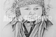 Black and white drawings / The drawings from the English artist Alan John Porter. #alanjporterart #kompas #art #kids #drawing #artwork #beauty #kids