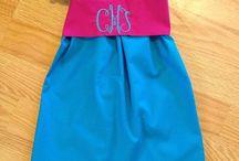 Girl's Monogrammed Dresses
