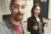 Instagram Stamattina siamo al liceo Flaminio di #vittorioveneto! In attesa dell'orda selvaggia! :D