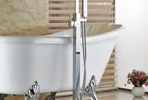 Best freestanding tub faucets / New bathroom design features like freestanding bathtubs are becoming very popular ~ http://walkinshowers.org/best-freestanding-tub-faucet-reviews.html