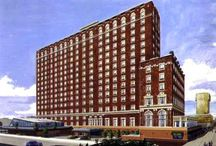 Early Hotels - From Atlantic City's Nostalgic Past / In 1918 there were approximately 1,200 hotels in Atlantic City, however, only about 30 with a prestigious boardwalk address. The city claimed to lead every resort in the world in the number and splendor of its hotels. Below we show you some excellent examples. The Monopoly Board Game spaces were named after some of these same locations. www.ACBoardwalkRealty.com