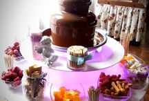fontanna czekoladowa