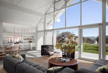 Hus interiør / vindu / stue