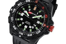 Isobrite T100 Tritium Watches / Isobrite by Armourlite features T100 Tritium illumination, lightweight polycarbonate case or steel case with 10 year battery life, sapphire crystal, two tritium markers on the unidirectional bezel, 200m water resistant.