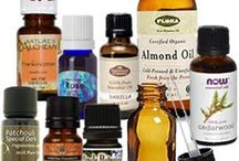 Essential oils for body and for aromatherapy