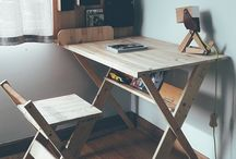 d e s k / furniture desk table wooden Handmade 2018: The Products