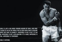 Fitness / Training and quotes
