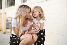 mom & daughter fashion