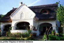 Balatonfüred / Balaton-felvidék, parasztház, családi ház, présház, borászat
