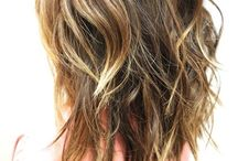 Hair styles for cut and/or color