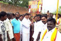 ISMK Party President Mr. Sarath Kumar in thangammalpuram