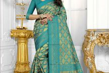 2601 Handloom Banarasi Silk Heavy Resham Embroidery Work Saree