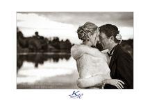 Black and White wedding photography / Stunning black & white wedding photography by Kenny Hickey photography