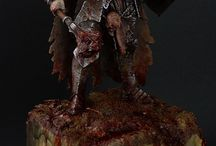 Miniatures, Maquettes and Resin KIts