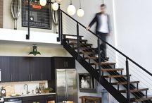 Industrial loft / #interiordesign