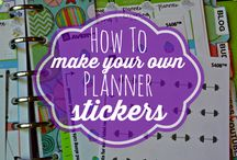 All Things Planner / Learning to make planner stickers, making planner stickers, learning about planners, learning bout clip art for personal & commercial use.. Basically lol things PLANNER!!   Without a planner life is chaos!