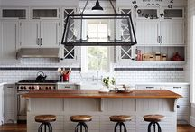 WOODHAVEN KITCHEN / IDEAS AND INSPIRATION FOR COTTAGE KITCHEN UPDATE / by Lisa Dickner-Goulet, Interior Decorator