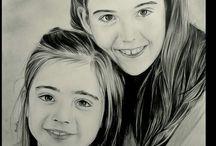 Dessin portrait / Dessin portrait au crayon hyperrealiste realisé sur commande d'aprés photos www.samos17.fr artiste portraitiste et creations #drawing #portrait #art #dessin #amazing#pencil #realist