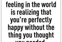 Happiness, Optimistic & Stuff