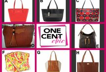 Fashion Friday at OneCentChic 6-6-14 / Fabulous Designer Bags up for auction @OneCentChic tonight at 10 PM Win a Bag for over 90% off retail