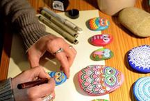 Painting / Painted rocks