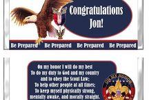 Eagle Scout Favors