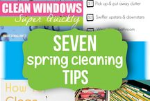 Make a Clean Break / Genius Cleaning Tips & Advice / by Tiffany Zimmerman