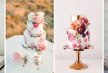 Torty ręcznie malowane / Torty ślub wesele ręcznie malowane zdobione