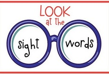 Kinder Sight Word Ideas / by Carole McIntire