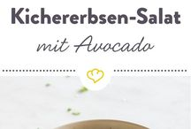 Kichererbsen /Avocado