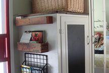Creative Storage Ideas / by Dottie Smith