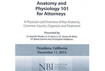 Anatomy and Physiology 101 for Attorneys