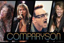 Comparyson spettacolari / Comparyson sullo spettacolo, musica, cinema e tv.