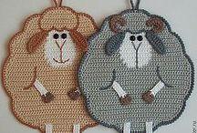 """Lindos Diseños prácticos y útiles en """"Punto Crochet"""""""