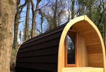 One Bedroom Woodland Lodge / Our brand new, luxury one bedroom woodland lodges