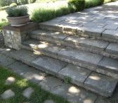 Stone Steps and Coping / Some of the outdoor projects that have used our reclaimed stone and coping