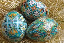Pysanky / The art of Ukrainian Easter Egg design!!!