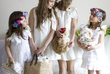 Girl headdresses and floral crowns / more/mas info:www.carolinabouquet.com