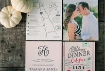 I Love Weddings / Ideas for printables and invitation designs for weddings / by Doris Chung